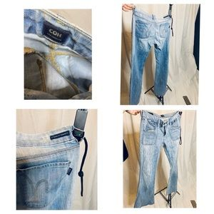 Citizens of humanity bell bottom jeans